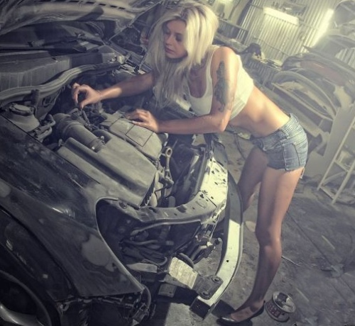 Checking Car