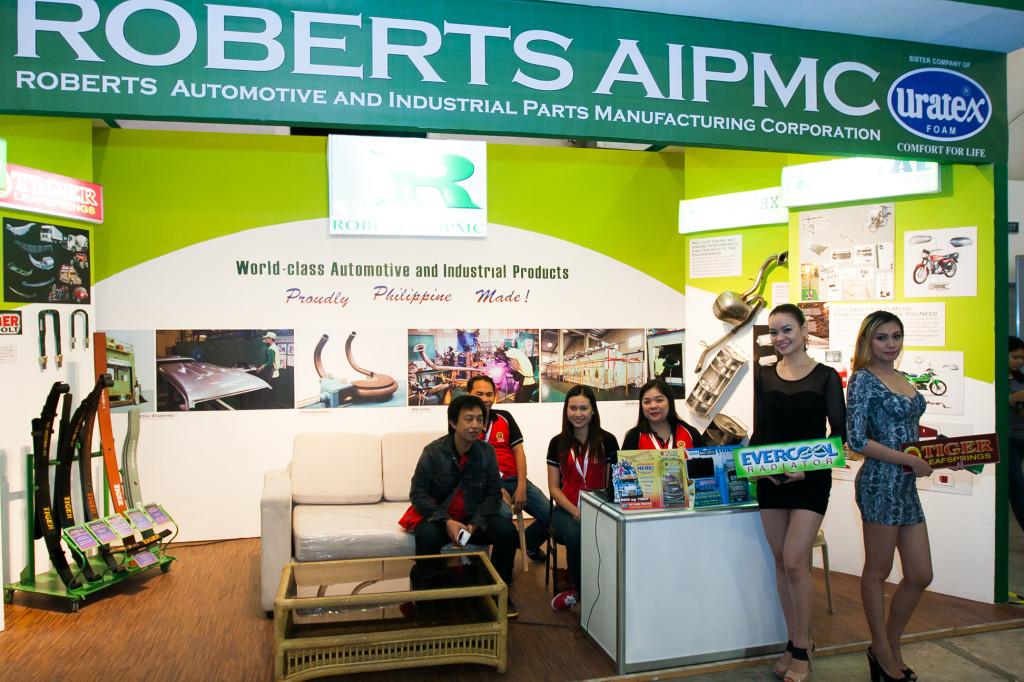 Roberts AIPMC at the 2014 Manila International Auto Show