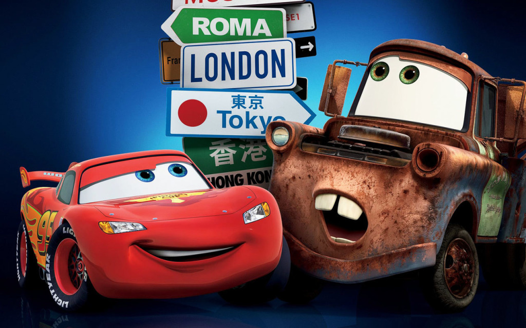 Lightning McQueen and Mater