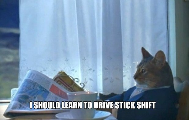 Stick Shift Meme