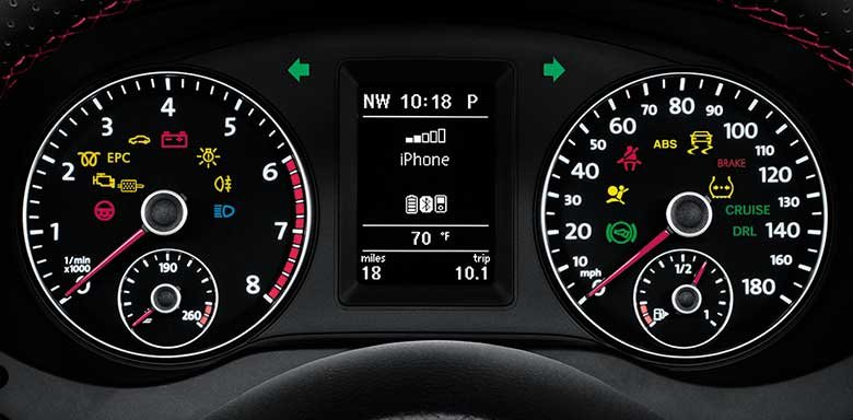 indicator light dashboard