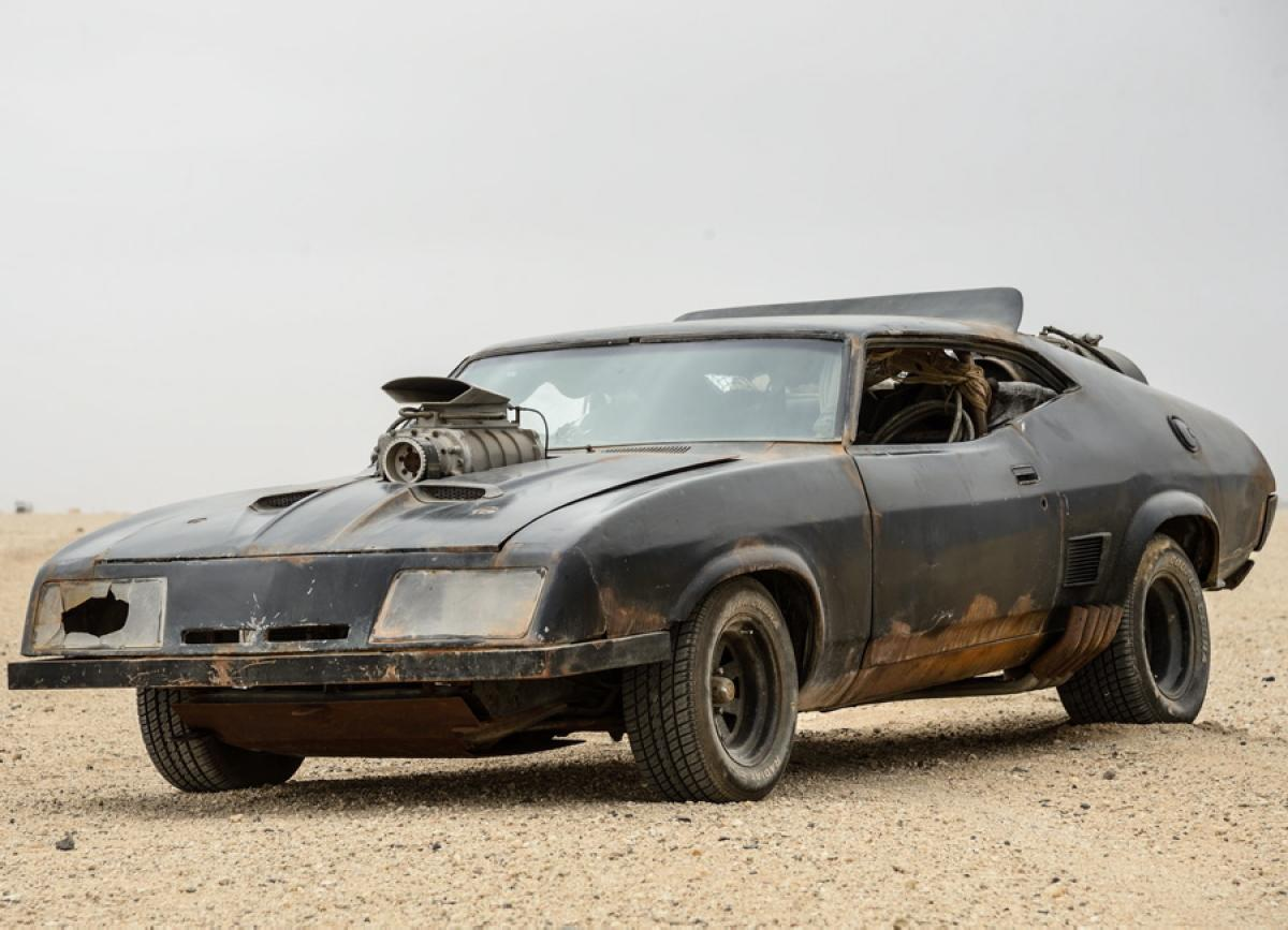 4 Rides In Mad Max Fury Road on 1974 ford interceptor