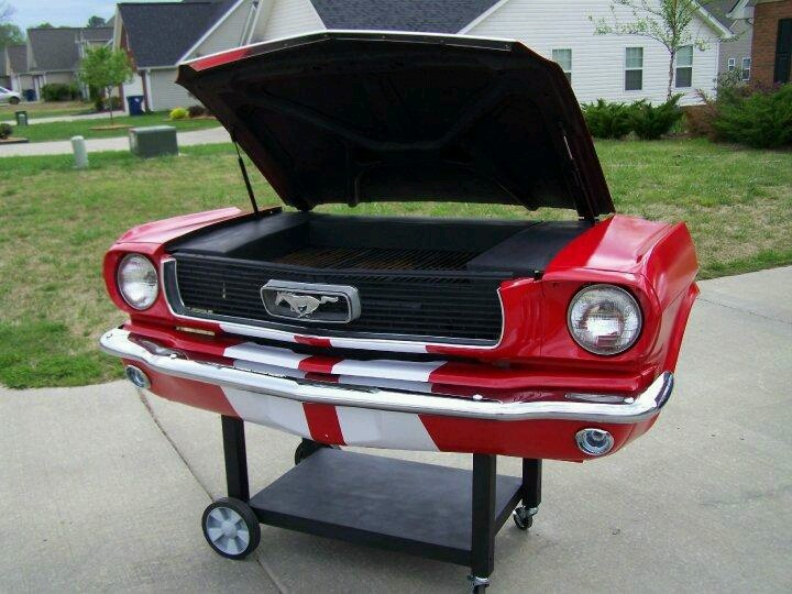 hood barbecue grill