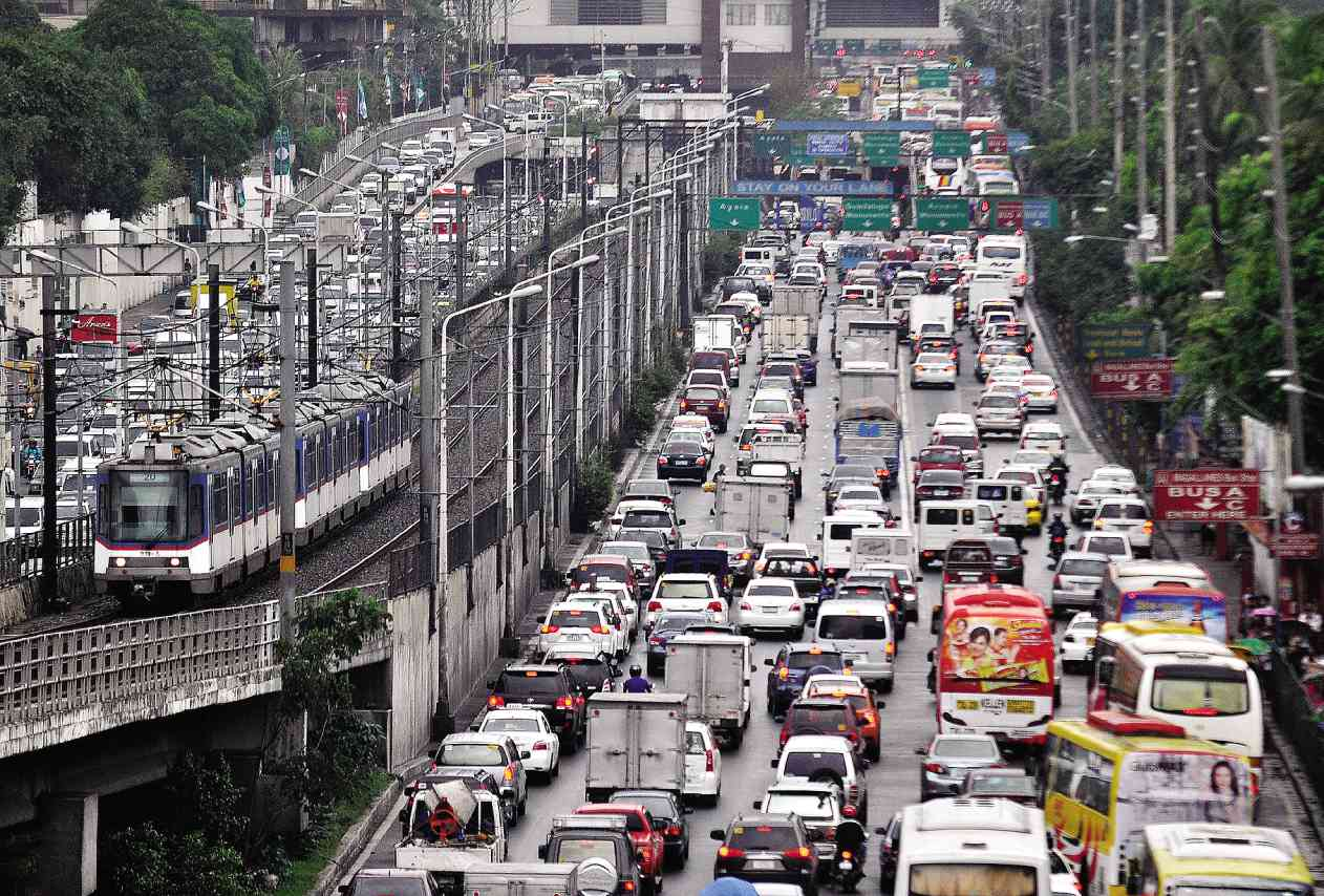 traffic in edsa