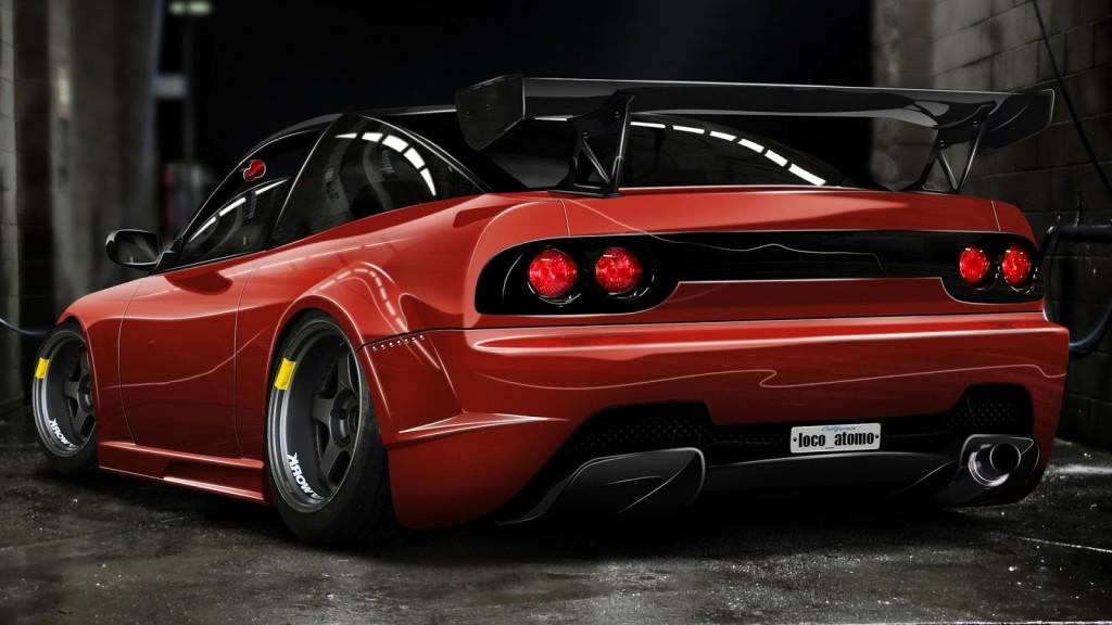 arena red car