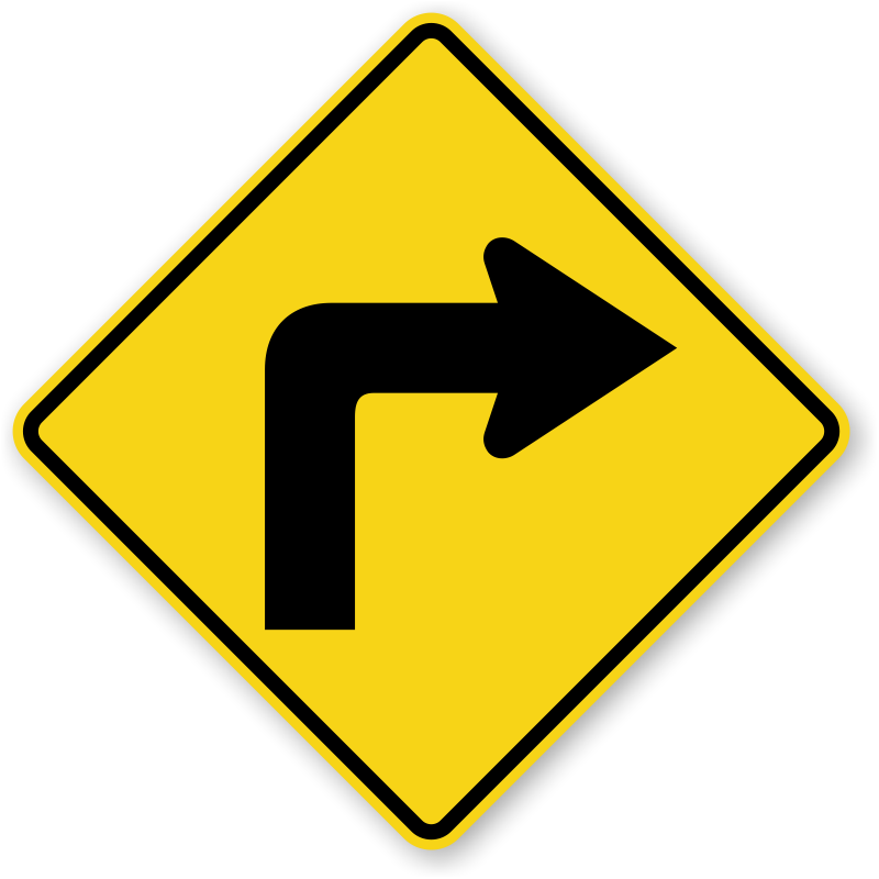 right turn