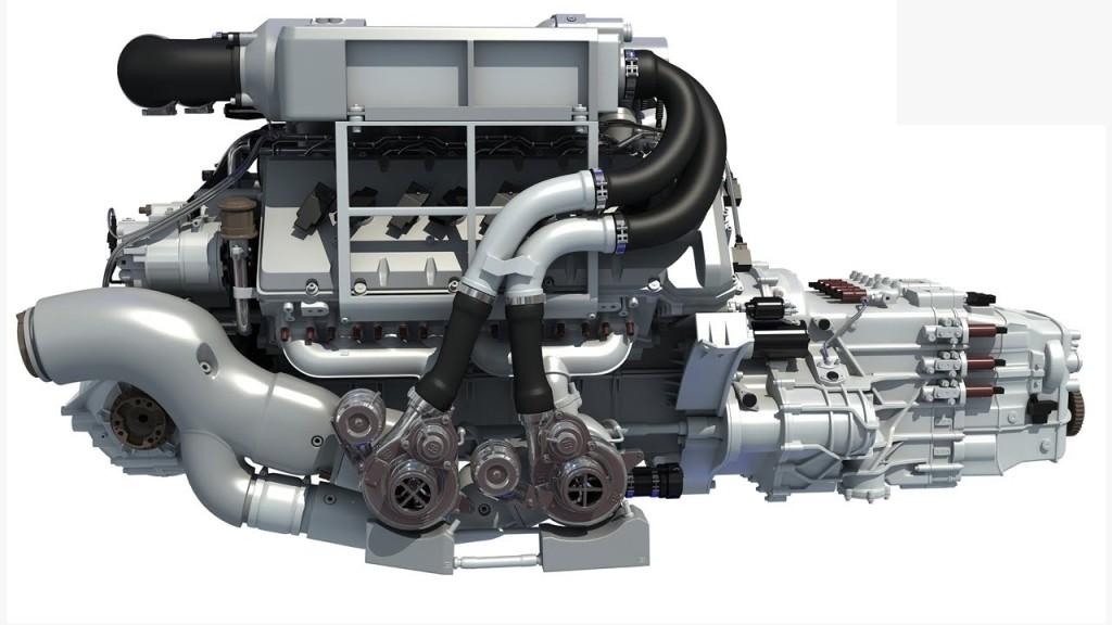 Bugatti Veyron W16 Engine