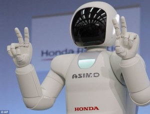 asimo photo from dailymail