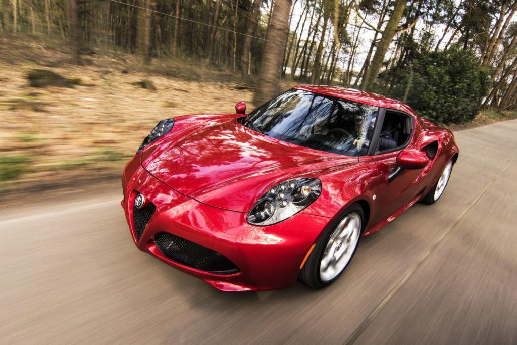 Red Car Running