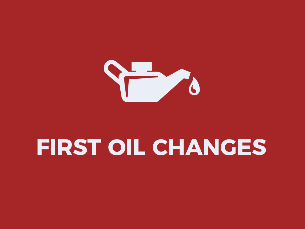 First Oil Changes