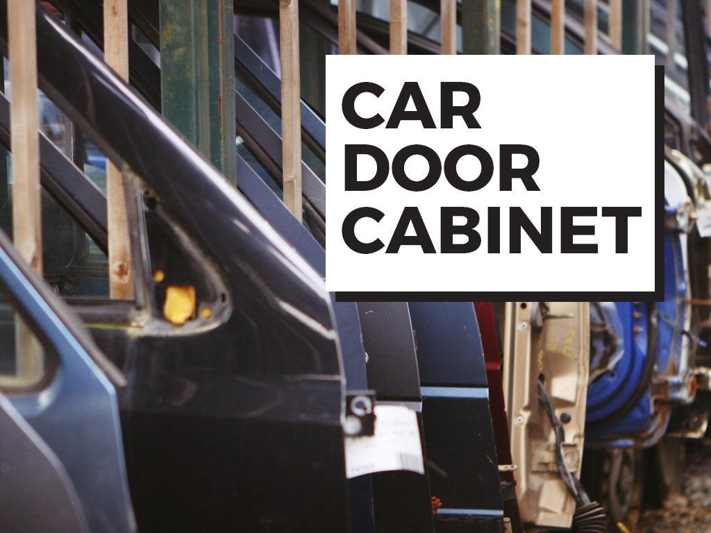 Car Door Cabinet