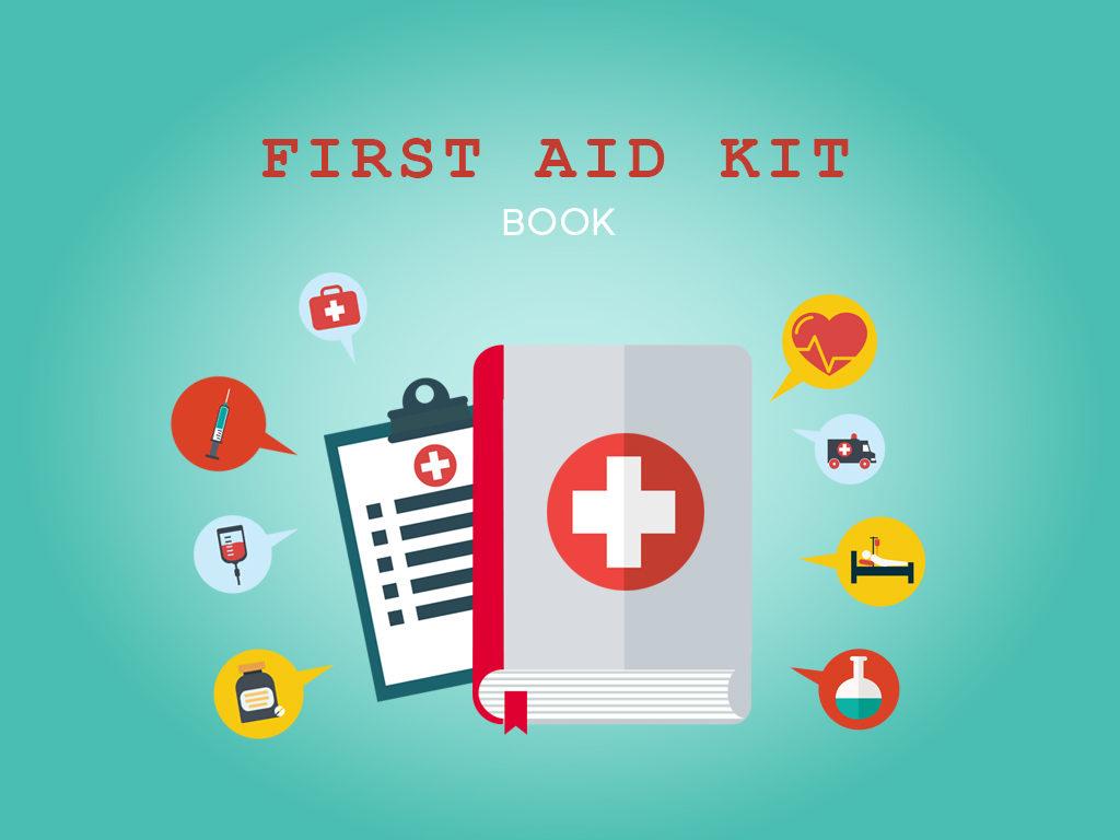 A first aid kit book