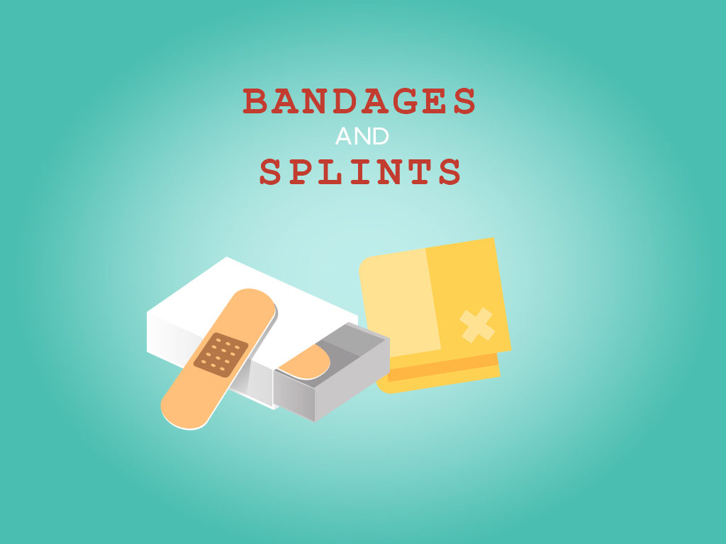Bandages and splints