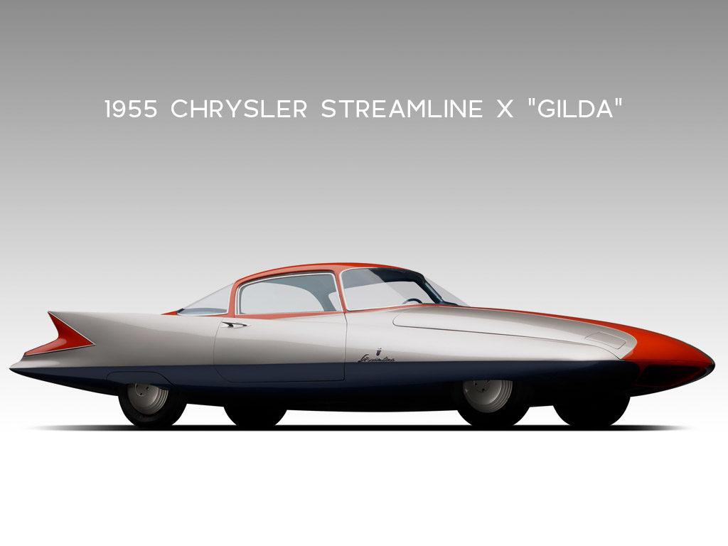"1955 Chrysler Streamline X ""Gilda"""