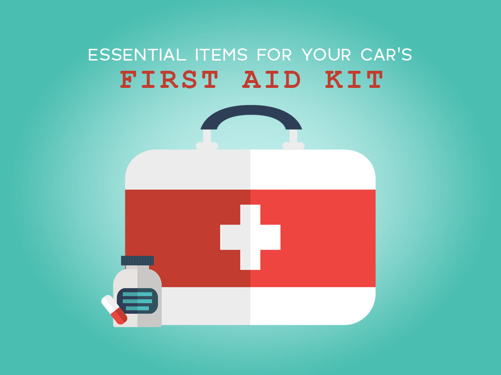 Essentials Items for your Car's First Aid Kit