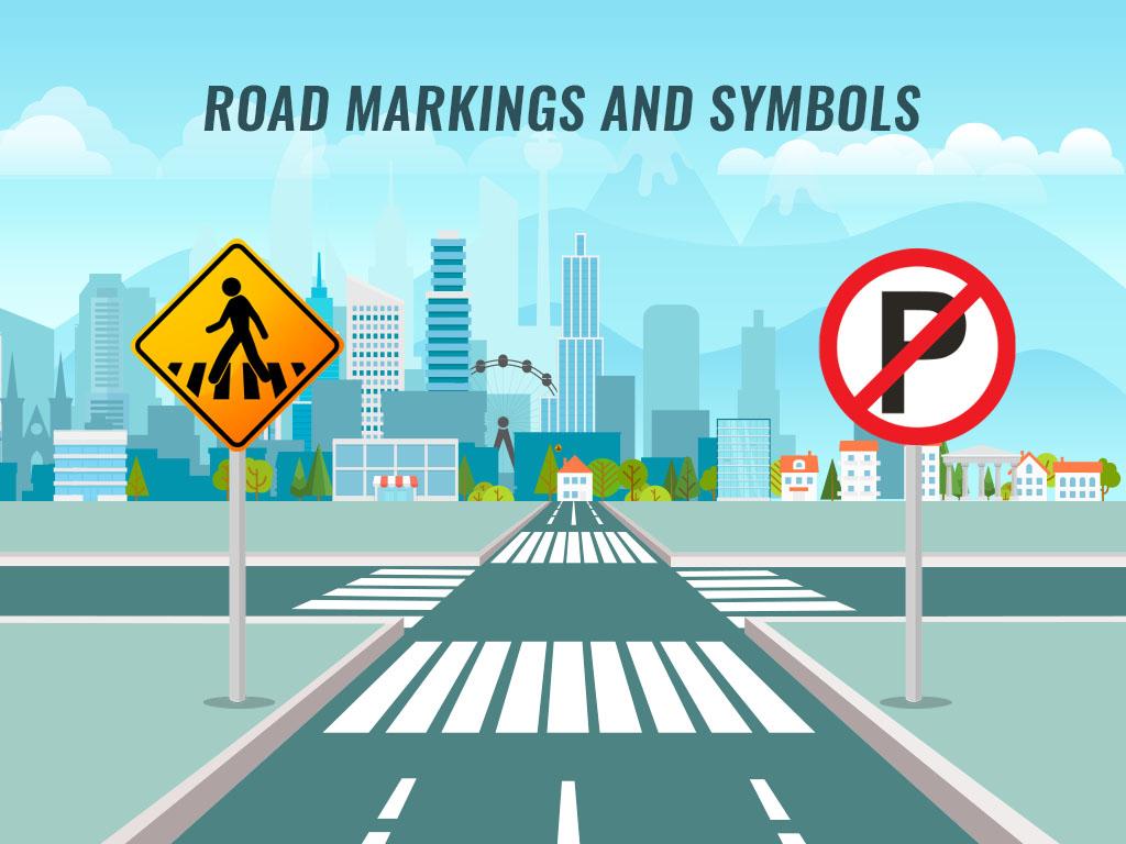 Road Markings And Symbols
