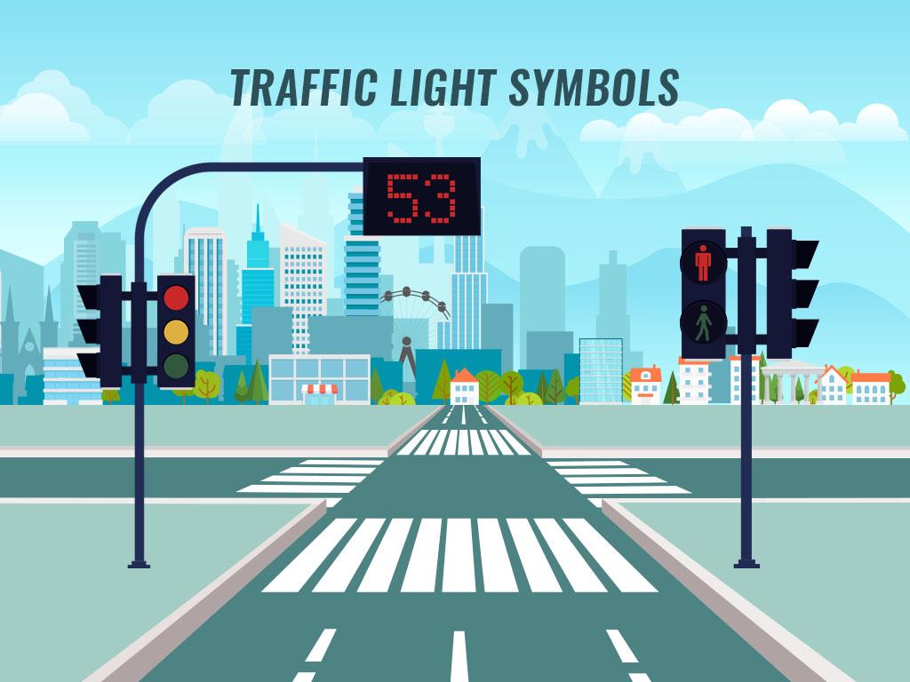 Traffic Light Symbols