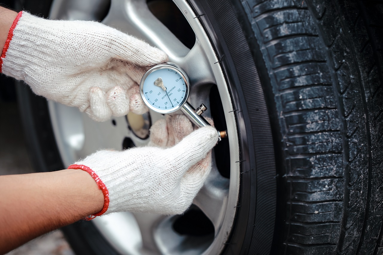 Adjust your tire's air pressure