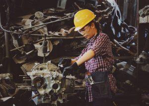 Factory Factory Worker Girl 1108101