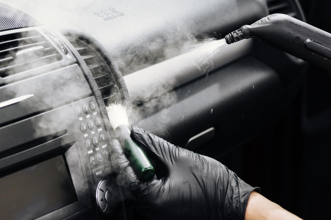 Disinfecting car ventilation